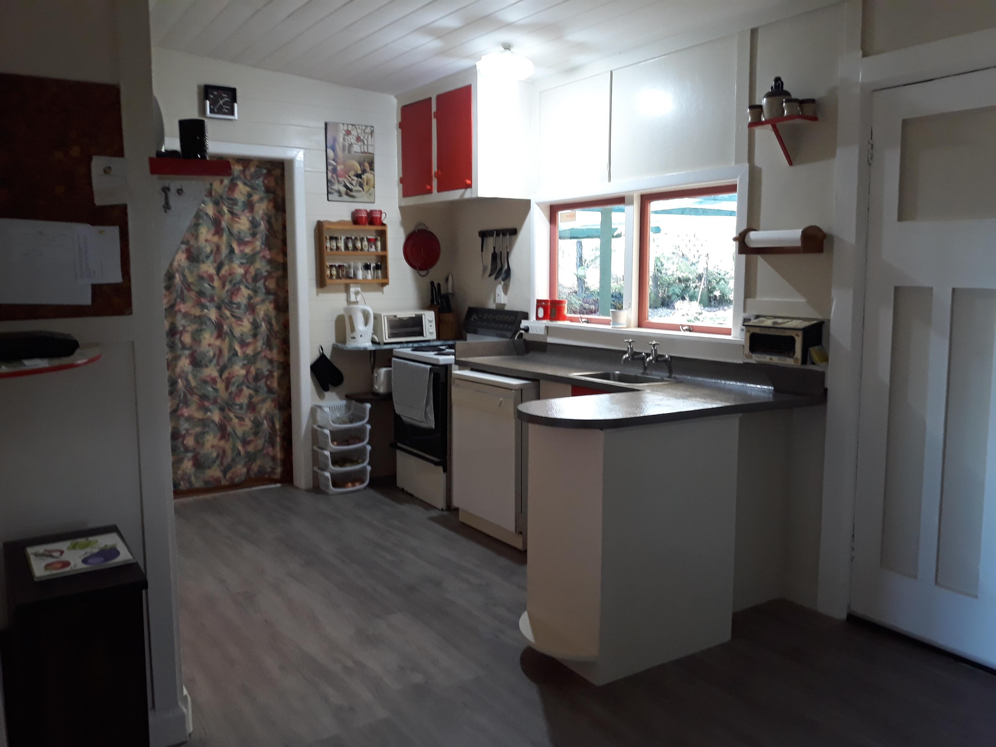 Fly Fishing Accommodation - Kitchen